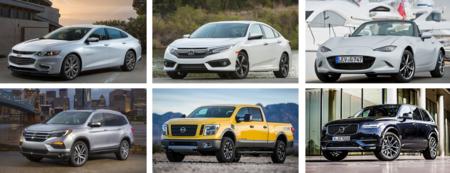 De estos finalistas saldrán los ganadores  del North American Car & Truck of the Year