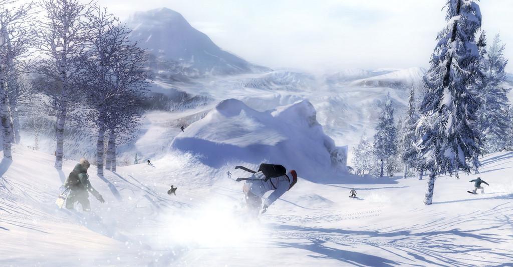Imágenes de Shaun White Snowboarding