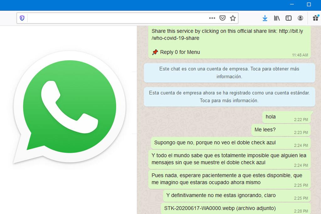 Cómo guardar un chat de WhatsApp y verlo más tarde como en la aplicación