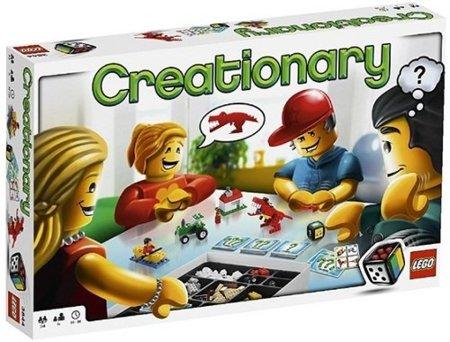 Creationary, un Pictionary Lego