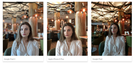 Google Pixel vs iPhone 8 Plus vs Google Pixel 2