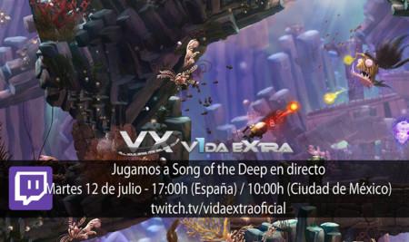 Jugamos en directo a Song of the Deep a las 17:00h (las 10:00h en Ciudad de México) (finalizado)