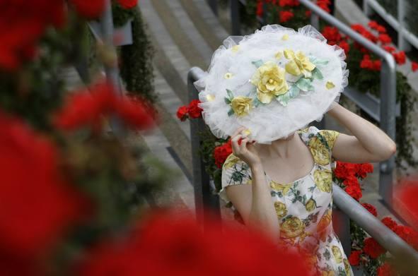 Foto de Ascot 2008: imágenes de sombreros, tocados y pamelas (18/20)