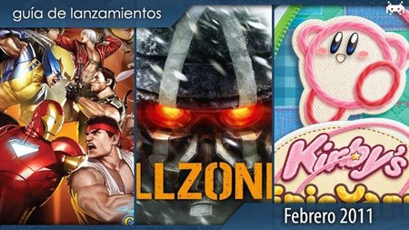 Guía de lanzamientos: febrero de 2011
