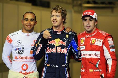 Pole para Sebastian Vettel en el Gran Premio de Abu Dhabi. Fernando Alonso, a un paso del título