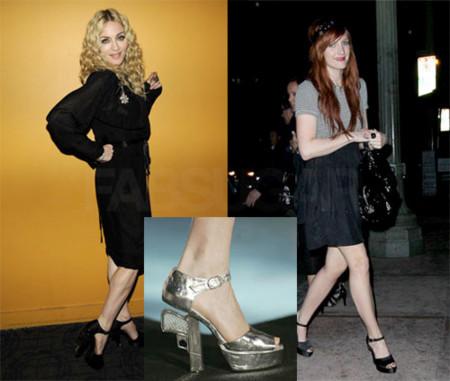 Sandalias de Chanel: ¿Madonna o Ashlee?
