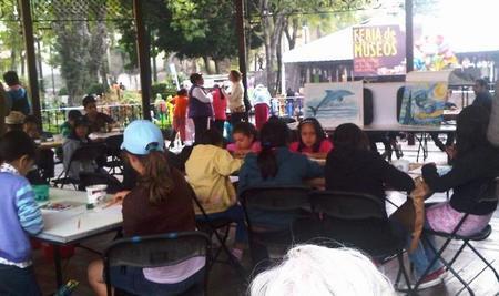 Actividades para niños en la Feria de Museos