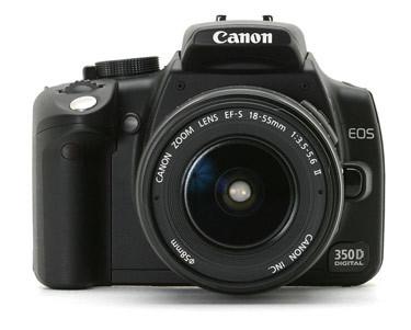 Cámara reflex Canon EOS 350D