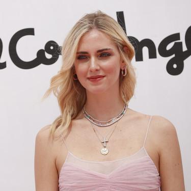 Chiara Ferragni se viste de princesa moderna en Madrid para presentar su colección de maquillaje