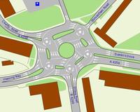 [Vídeo] ¿Son más eficientes las rotondas o los cruces?