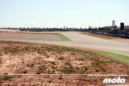 """GP de Aragón 2011: Fuimos a ver la curva """"mutante"""" de MotorLand"""