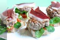Receta de mini hamburguesas con foie fresco de pato