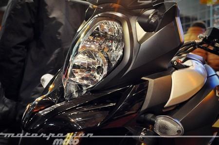 Suzuki V-Strom 1000 2014, presentación estática y primeras impresiones