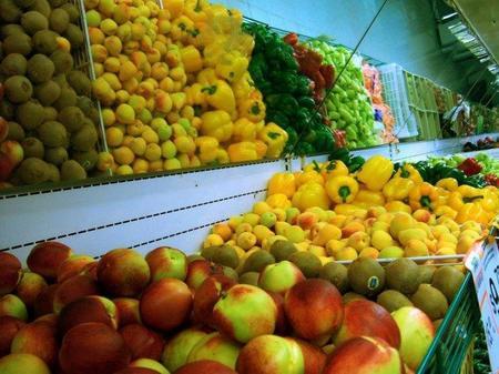 15.000 kilos de frutas y verduras en Madrid
