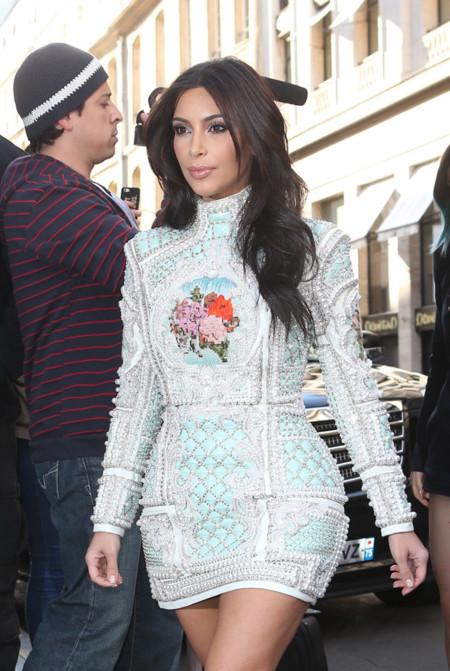 ¿Es este el look más hortera de Kim Kardashian?