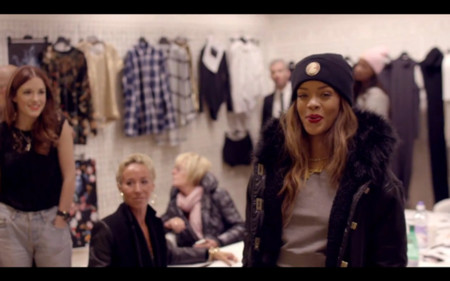Porque no hay dos sin tres, Rihanna también tendrá colección de invierno en River Island