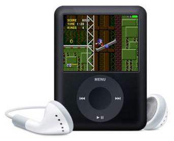 Sonic The Hedgehod en los iPod