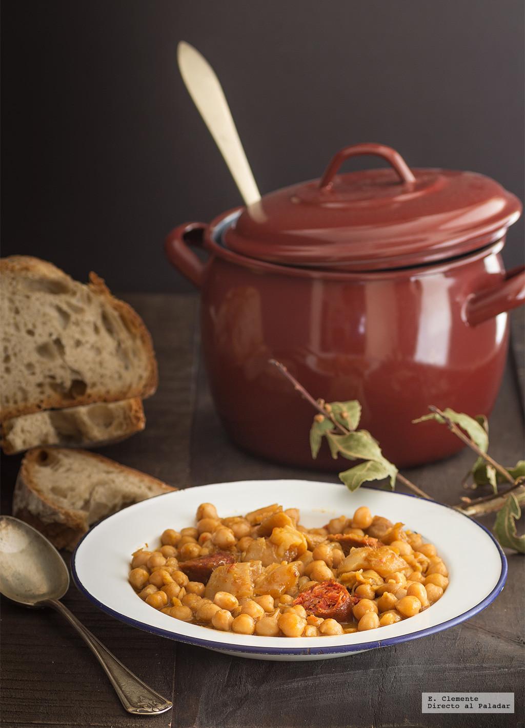 Garbanzos las mejores recetas - Preparacion de garbanzos cocidos ...