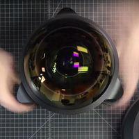 Un llamativo timelapse nos muestra cómo se construye un hiper ojo de pez 4.9mm F3.5