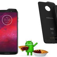 El Moto Z3 recibe la actualización a Android 9 Pie con soporte para el Moto mod 5G