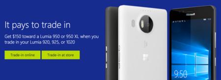 Este es el plan renove de Microsoft para los Lumia 920, 925 y 1020, pero por ahora sólo en EEUU y Canadá