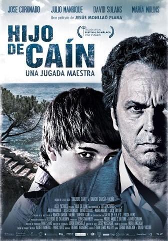 Imagen con el cartel de la película 'Hijo de Caín'