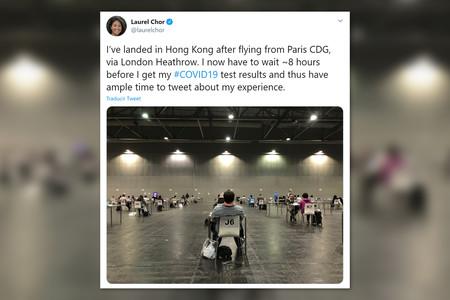 Los infernales protocolos del aeropuerto de Hong Kong: test de Covid y ocho horas de espera