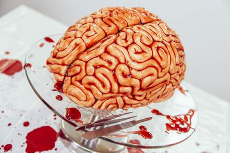 Halloween Tarta Cerebro