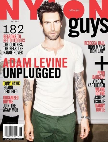 Adam Levine, empiezo a mosquearme con tanta camiseta