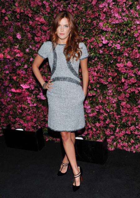 Riley Keough Tribeca Chanel