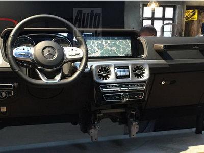 ¡Filtrado! El nuevo Mercedes-Benz Clase G tendrá un tablero mucho más moderno y cargado de tecnología