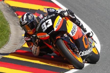 MotoGP Alemania 2012: victoria de Marc Márquez y remontada de Pol Espargaró
