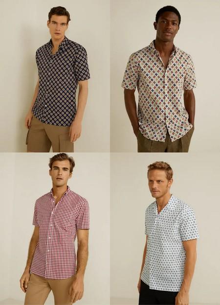 Camisas Manga Corta Perfectas Para El Verano Trendencias Hombre