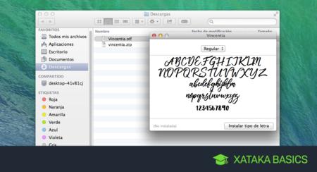 Cómo instalar nuevos tipos de letra en Mac