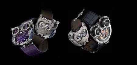 La JwlryMachine, el radical reloj de lujo de Boucheron y MB&F