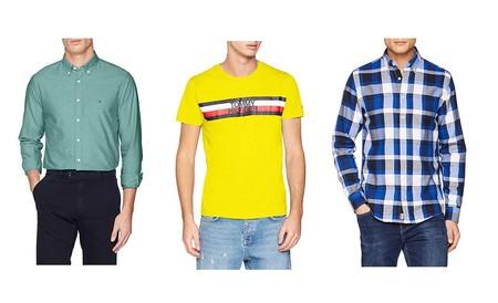Tres prendas de oferta en algunas tallas sueltas de Tommy Hilfiger disponibles en Amazon