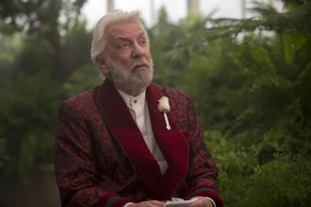 Donald Sutherland En Los Juegos Del Hambre Sinsajo Parte 2