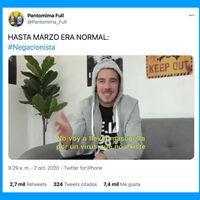 YouTube ha eliminado un vídeo de Pantomima Full en el que parodian a los negacionistas del COVID-19 [Actualizado]