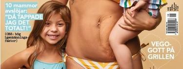 Más portadas así y menos de cuerpos perfectos una semana después de dar a luz