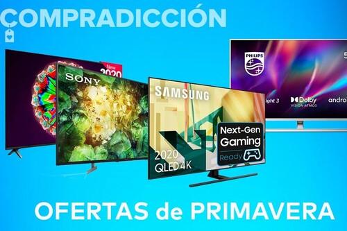 18 smart TVs de LG, Philips, Samsung o Sony que te van a salir mucho más baratas en las ofertas de primavera de Amazon
