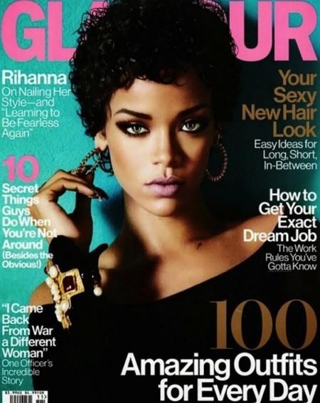 Rihanna y los veinte kilos de Photoshop de su portada para Glamour