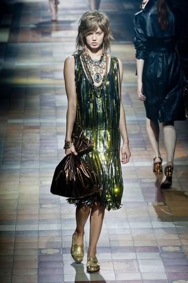 Lanvin Primavera-Verano 2014: los vestidos más brillantes