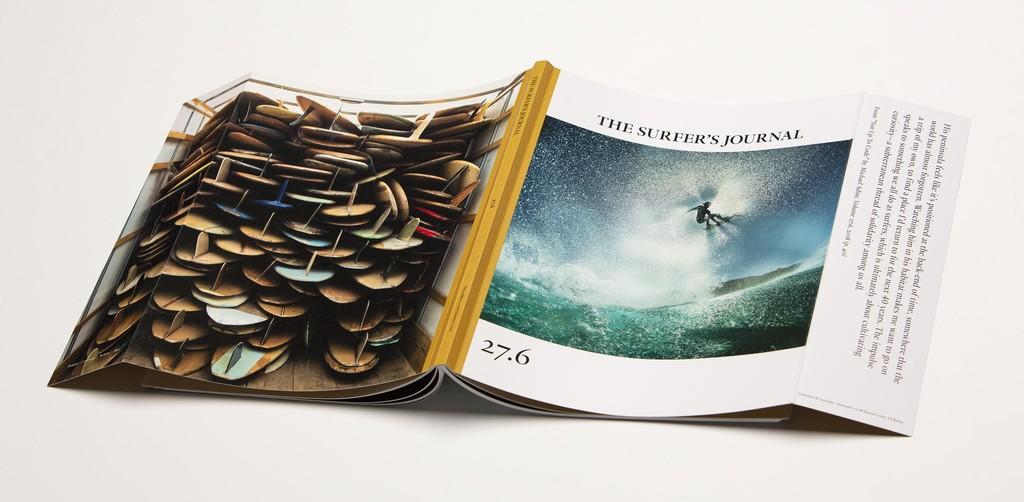 La más reciente portada de la revista Surfer's Journal fue tomada con un iPhone