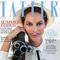 El ataque de las supermodelos parte II. Christy Turlington para Tatler