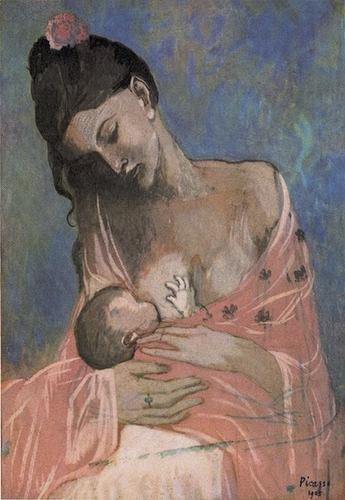 """""""Maternidad"""" de Picasso (1901)"""