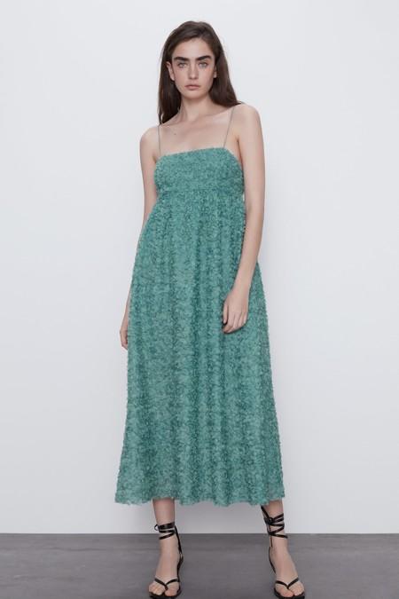 Vestido Invitada Zara Midi 01