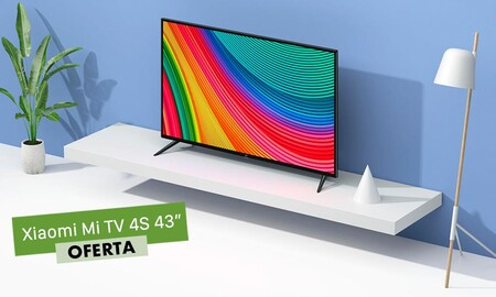 Fnac tiene la Xiaomi Mi TV 4S de 43 pulgadas rebajada en 100 euros: llévatela a casa por 299,90 euros