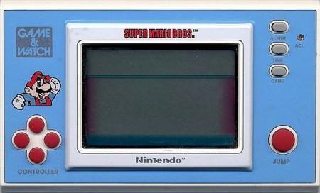 Game & Watch edición Super Mario Bros. llega el juego portátil más radical
