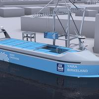 """Noruega ya está fabricando el """"Tesla de los mares"""": su primer barco autónomo impulsado por energías renovables"""