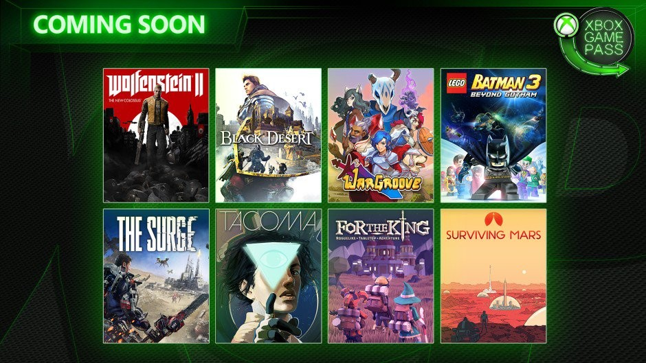 Wolfenstein II: The New Colossus, The Surge y Wargroove entre los juegos que se unirán a Xbox Game Pass en mayo